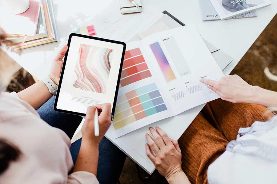 цветовая палитра для оформления инстаграм